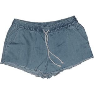 Aerie Drawstring Denim Shorts